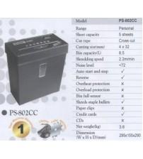 Mesin Penghancur Kertas Biosystem PS 802CC