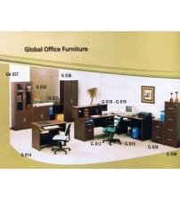 Meja Kantor 1/2 Biro Global G 801