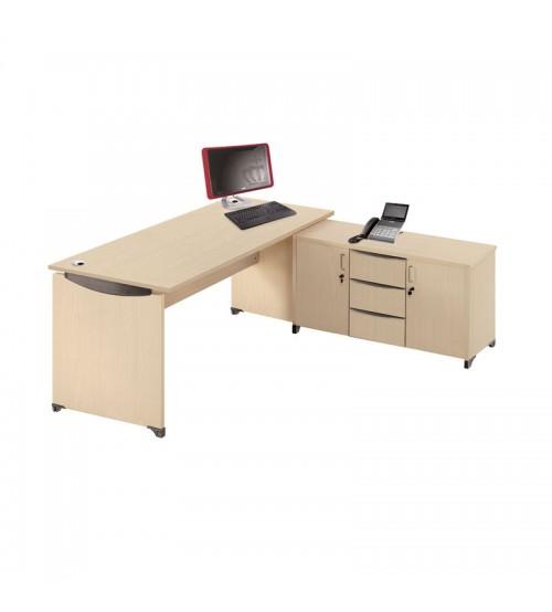 Meja Kantor Indachi Priority L-set 160