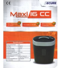Mesin Penghancur Kertas Secure Maxi 16 CC